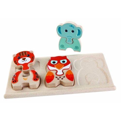 Деревянная игрушка PlanToys® Зоо-пазл