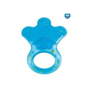 Погремушка с прорезывателем Canpol babies Лапка голубой