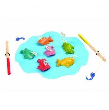 Деревянная игрушка PlanToys® Рыбалка