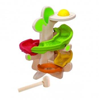 Деревянная развивающая игрушка PlanToys® Щёлкающее дерево