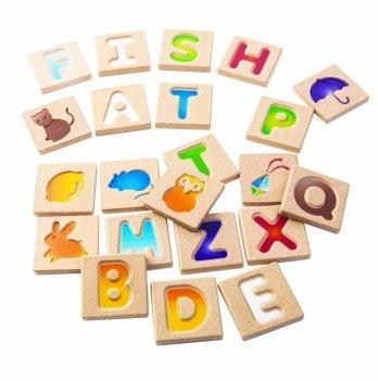 Деревянная игрушка PlanToys® Английский алфавит А-Z, 5637