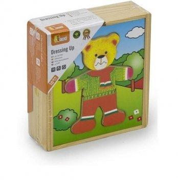 Игровой набор Viga Toys Гардероб медведя 56401