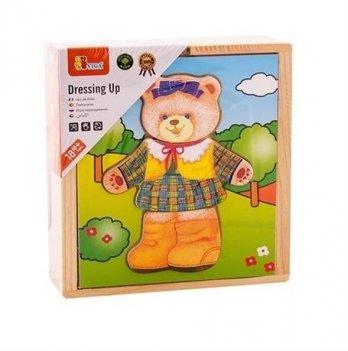 Игровой набор Viga Toys Гардероб медведицы