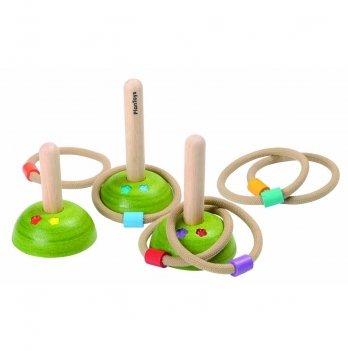 Деревянный набор для игры PlanToys® Кольцеброс