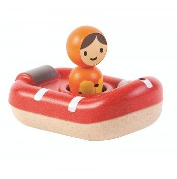 Деревянная игрушка для ванной PlanToys® Катер береговой охраны