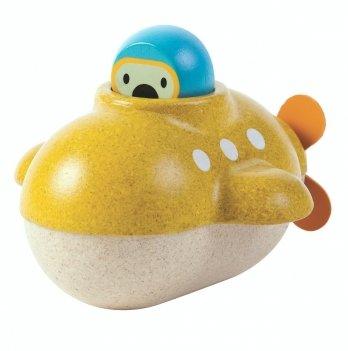 Деревянная игрушка для ванной PlanToys® Подводная лодка