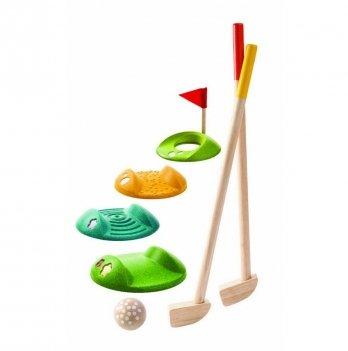 Деревянный набор для игры PlanToys® Мини-гольф