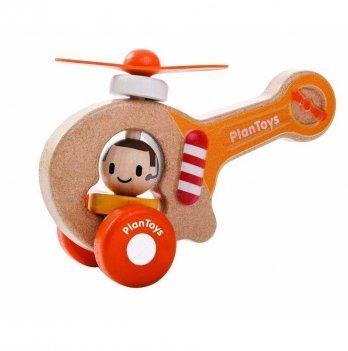 Деревянная игрушка PlanToys® Вертолет