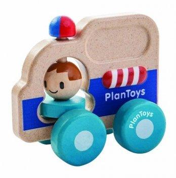 Деревянная игрушка PlanToys® Спасательная машина