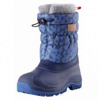 Сапоги снегоступы Reima Ivalo, синие