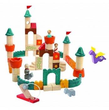 Деревянный игровой набор PlanToys® Фантастические кубики