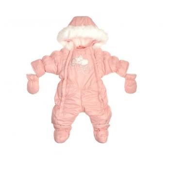 Комбинезон-трансформер Ластенок Garden baby 101016-36/32/46 розовый