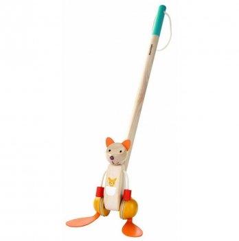 Деревянная каталка PlanToys® Танцующий кенгуру