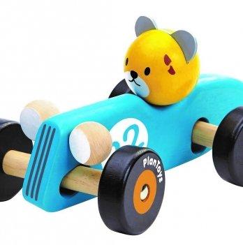 Деревянная машинка PlanToys® Гепард-гонщик