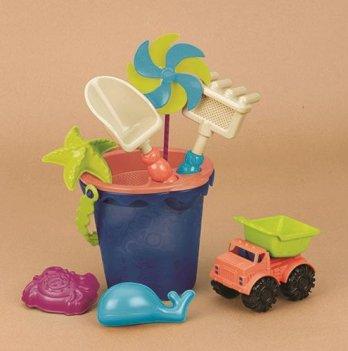 Набор для игры с песком и водой Battat Ведерко море
