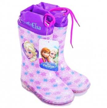 Сапоги резиновые Disney Холодное сердце (Frozen), фиолетовые