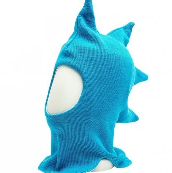 Шапка-шлем для малышей Kivat Динозавр 575, голубой