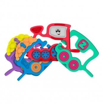 Игрушка-погремушка Паровозик 1 2 3 Chicco 07681.00