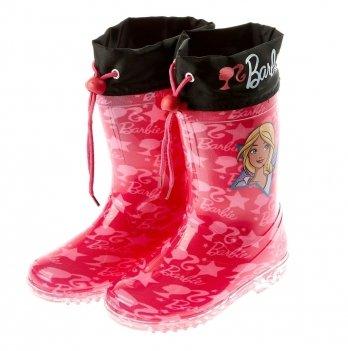 Сапоги резиновые Disney Барби (Barbie), красные
