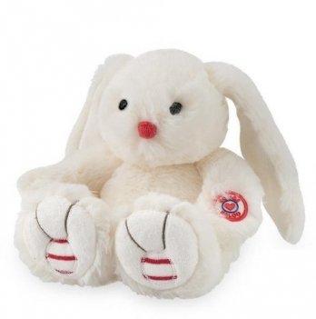 Мягкая игрушка Kaloo Заяц белый маленький, Rouge