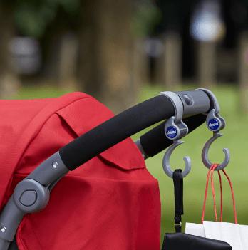 Крючок для крепления сумки на коляску Chicco