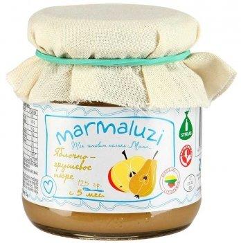 Пюре фруктовое Marmaluzi яблочно-грушевое 125 г