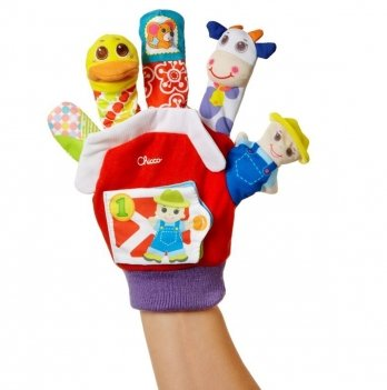 Игрушечная рукавичка