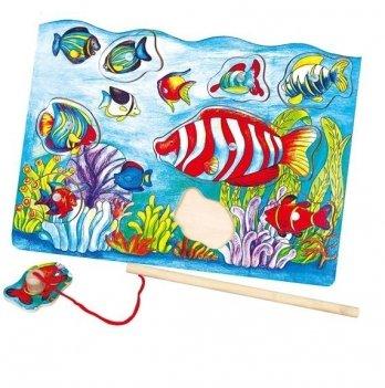 Пазл магнитный Viga Toys Рыбалка 58423