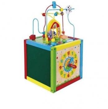 Игрушка Viga Toys Занимательный кубик 58506