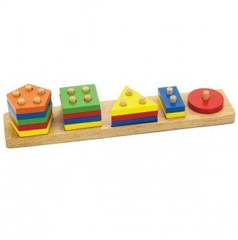 Сортер Viga Toys Геометрические фигуры 58558