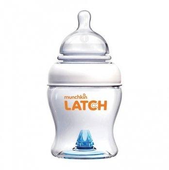Бутылочка пластиковая Munchkin Latch, с силиконовой соской, 120 мл, 0+
