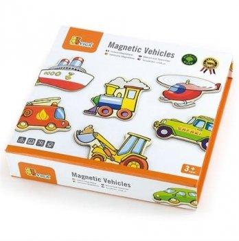 Набор магнитных фигурок Viga Toys Транспорт
