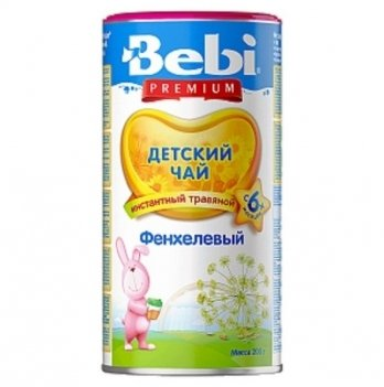 Чай детский Kolinska Bebi PREMIUM фенхелевый 200 г