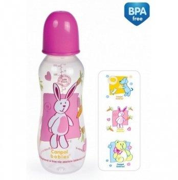 Бутылочка пластиковая Canpol babies, 330 мл, BPA FREE