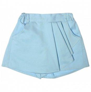 Юбка-шорты, Garden baby, ярко-голубая