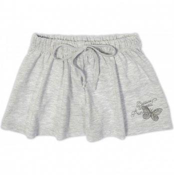 Юбка-шорты, Garden baby, серый меланж, 59115-03