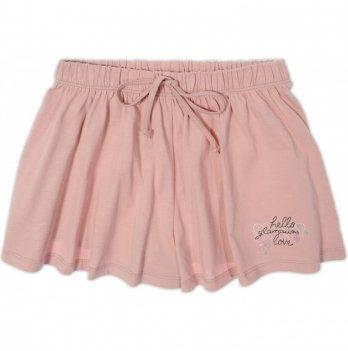 Юбка-шорты Garden baby для девочки, пудровая, 59117-03