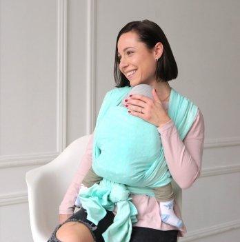 Тканный слинг-шарф Love & Carry Лагуна