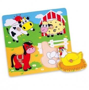 Пазл Viga Toys Ферма 59562