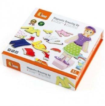 Игровой набор Viga Toys гардероб девочки