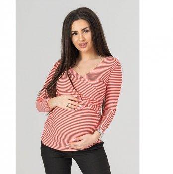 Джемпер для беременных и кормящих To Be Красный 3136061