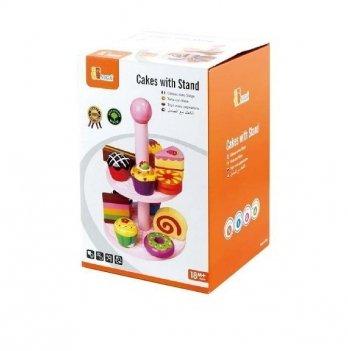 Игрушка Viga Toys Витрина с пирожными 59893VG