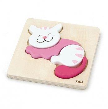 Пазл Viga Toys Кошка 59930