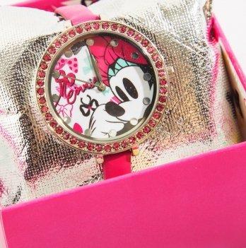 Часы Arditex Disney Минни Маус, в подарочной коробке, розовые