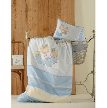Постельное белье Karaca Home Mini голубое, 2883