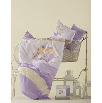 Постельное белье Karaca Home Mini лиловое, 2881