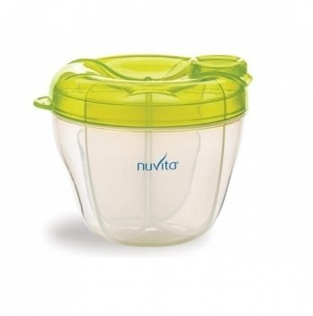 Контейнер для хранения молока Nuvita Зеленый NV1461Green