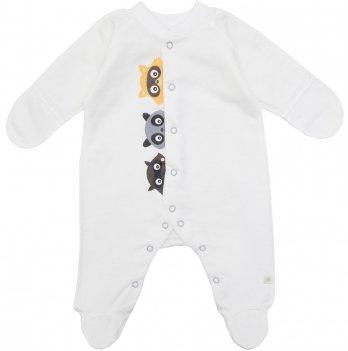 Человечек для новорожденных Minikin Крошка Енот молочный