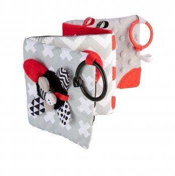 Игрушка-книжечка мягкая развивающая Canpol babies Sensory Toys 68/081