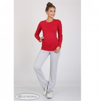 Брюки спортивные для беременных MySecret Alice 12.36.012 серый